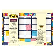 """Post-it® 18"""" x 12"""" Planner with Super Sticky Notes (730-CAL-AQUA)"""