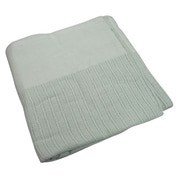 "R&R Value Thermal Blanket Leno Weave Twin Size 2.5-pound, 66"" W x 90"" L, Jade (STX51003)"
