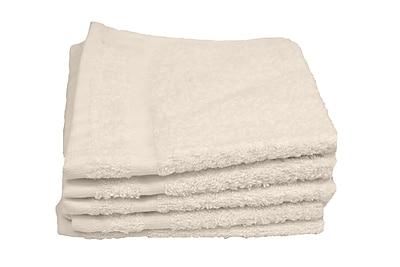 Hotel Basics Wash Cloth 1-pound, 12-Pack, 12