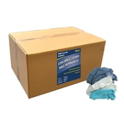 """Pro-Clean Basics Terry Cloth Rags, 50-pound box, 16"""" W x 24"""" L, Assorted (ST99402)"""