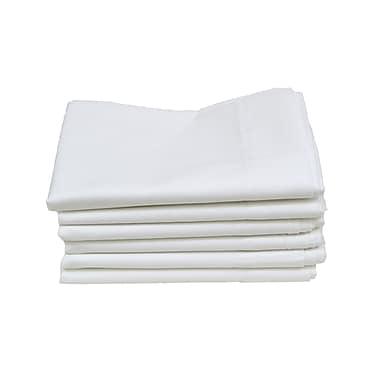 Hotel Basics T180 Standard Pillow Case, 12-Pack, 42