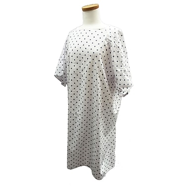 Healthcare Basics Large Economy Patient Gown Straight Back, 12-Pack, 53