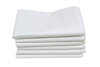 Hotel Basics T200 King Pillow Case, 12-Pack, 42