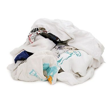 Pro-Clean Basics Recycled T-Shirt Cloth Rags, 4-pound bag, 16