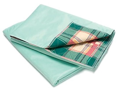 Healthcare Basics Plaid Underpad 7-ounce, 12-Pack, 34