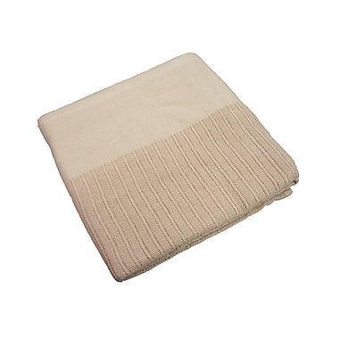 R&R Value Thermal Blanket Leno Weave Twin Size 2.5-pound, 66