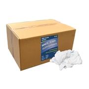 """Pro-Clean Basics Terry Cloth Rags, 15-pound box, 10"""" W x 20"""" L, White (ST99201)"""