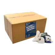"""Pro-Clean Basics Recycled Woven Wiping Rags, 50-pound box, 16"""" W x 24"""" L, Assorted (ST99602)"""