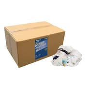 """Pro-Clean Basics Recycled T-Shirt Cloth Rags, 25-pound box, 20"""" W x 12"""" L, Multicolored (ST99703)"""