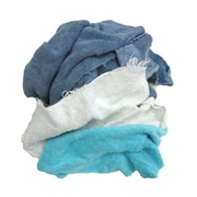 "Pro-Clean Basics Terry Cloth Rags, 3-pound bag, 6"" W x 14"" L, Assorted (ST99400)"