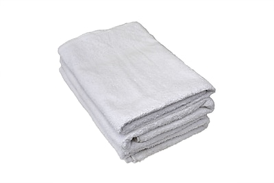 Hotel Basics Bath Towel 8-pound, 12-Pack, 24