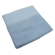 "R&R Value Thermal Blanket Leno Weave Twin Size 2.5-pound, 66"" W x 90"" L, Blue (STX51002)"