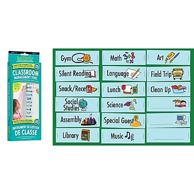 Easy Daysies Classroom Visual Daily Schedule, 18 piece set (ESD210)