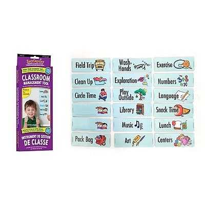 Easy Daysies Preschool/Kindergarten Classroom Daily Visual Schedule, 18 Piece Set (ESD213)