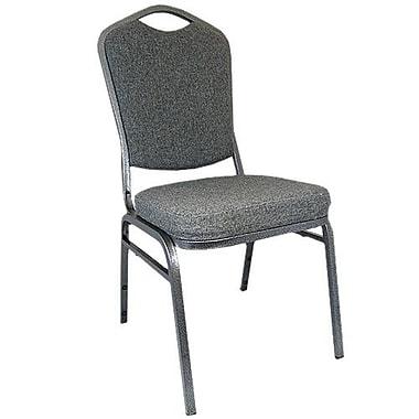 Advantage Charcoal Gray Crown Back Banquet Chair 2 Pack (CBBC-109-2)