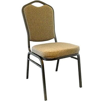 Advantage Mixed Tan Crown Back Banquet Chair 50 Pack (CBBC-108-50)