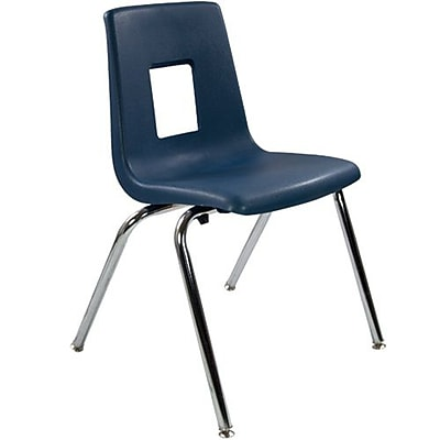 Advantage Navy Student Stack School Chair - 18