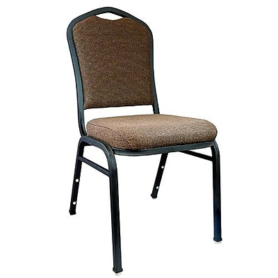 Advantage Premium Java Crown Back Banquet Chair, 25 Pack (CBMW-206)