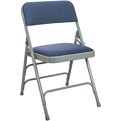 Advantage Navy Padded Folding Chairs 40 Pack (DPI903F-GN-40)
