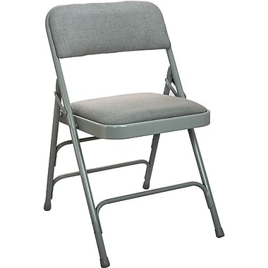 Advantage Gray Padded Folding Chairs 40 Pack (DPI903F-GG-40)