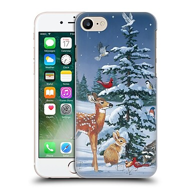 Official Christmas Mix Winter Wonderland William Vanderdasson Gathering Hard Back Case For Apple Iphone 7