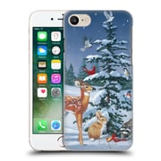 Official Christmas Mix Winter Wonderland William Vanderdasson Gathering Hard Back Case For Apple Iphone 7