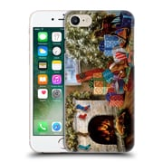 Official Christmas Mix Winter Wonderland Nicky Boehme Not A Creature Was Stirring Hard Back Case For Apple Iphone 7