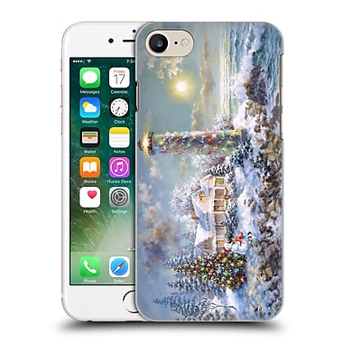 Official Christmas Mix Winter Wonderland Nicky Boehme Lighthouse Merriment Hard Back Case For Apple Iphone 7