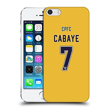 Official Crystal Palace Fc 2016/17 Players Away Kit Yohan Cabaye Hard Back Case For Apple Iphone 5 / 5S / Se