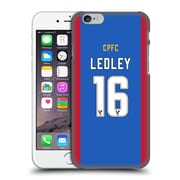 Official Crystal Palace Fc 2016/17 Players Home Kit Joe Ledley Hard Back Case For Apple Iphone 6 / 6S