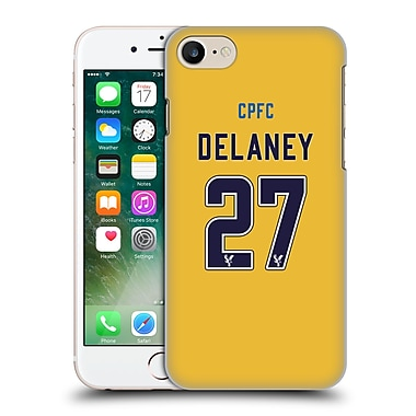 Official Crystal Palace Fc 2016/17 Players Away Kit Damien Delaney Hard Back Case For Apple Iphone 7