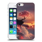 Official Daniel Conway Cherry Blossoms Scorched Earth Hard Back Case For Apple Iphone 5 / 5S / Se