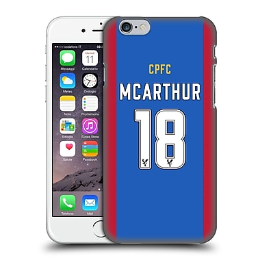 Official Crystal Palace Fc 2016/17 Players Home Kit James Mcarthur Hard Back Case For Apple Iphone 6 / 6S