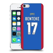 Official Crystal Palace Fc 2016/17 Players Home Kit Christian Benteke Hard Back Case For Apple Iphone 5 / 5S / Se