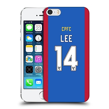 Official Crystal Palace Fc 2016/17 Players Home Kit Chung-Yong Lee Hard Back Case For Apple Iphone 5 / 5S / Se