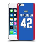 Official Crystal Palace Fc 2016/17 Players Home Kit Jason Puncheon Hard Back Case For Apple Iphone 5 / 5S / Se