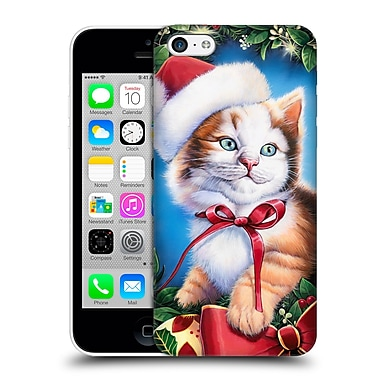 Official Christmas Mix Pets Jenny Newland Kitty Hard Back Case For Apple Iphone 5C