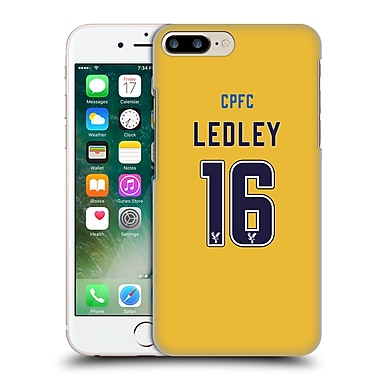 Official Crystal Palace Fc 2016/17 Players Away Kit Joe Ledley Hard Back Case For Apple Iphone 7 Plus