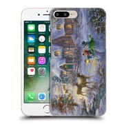 Official Christmas Mix Winter Wonderland Nicky Boehme Cottage 1 Hard Back Case For Apple Iphone 7 Plus