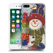 Official Christmas Mix Snowman William Vanderdasson Presents Hard Back Case For Apple Iphone 7 Plus