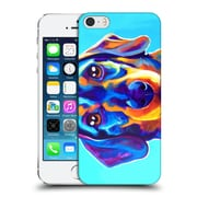 Official Dawgart Dogs Dachsund Oscar Hard Back Case For Apple Iphone 5 / 5S / Se