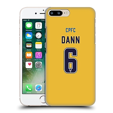 Official Crystal Palace Fc 2016/17 Players Away Kit Scott Dann Hard Back Case For Apple Iphone 7 Plus