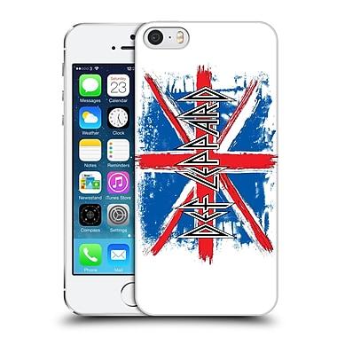 Official Def Leppard Design Vintage Jack Hard Back Case For Apple Iphone 5 / 5S / Se