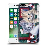 Official Christmas Mix Pets Jenny Newland Calendar Kittens Hard Back Case For Apple Iphone 7 Plus