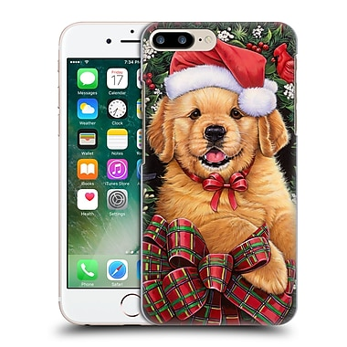 Official Christmas Mix Pets Jenny Newland Puppy Hard Back Case For Apple Iphone 7 Plus