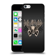 Official Def Leppard Design Skull 1 Hard Back Case For Apple Iphone 5C