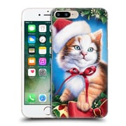 Official Christmas Mix Pets Jenny Newland Kitty Hard Back Case For Apple Iphone 7 Plus