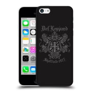 Official Def Leppard Design Sheffield 1977 Hard Back Case For Apple Iphone 5C