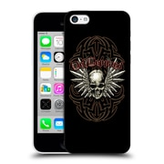 Official Def Leppard Design Skull 2 Hard Back Case For Apple Iphone 5C