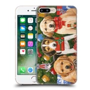 Official Christmas Mix Pets William Vanderdasson Which One'S Mine? Puppies Hard Back Case For Apple Iphone 7 Plus